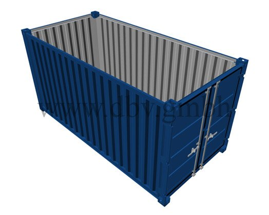 Lagercontainer 15 FT.