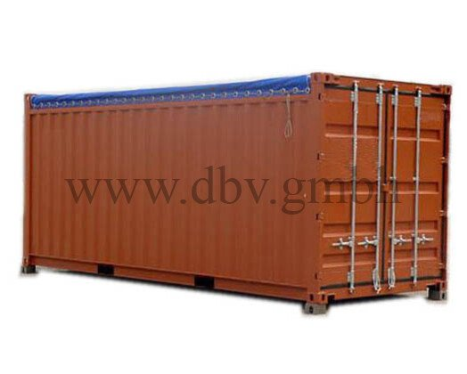 Seecontainer Opentop 20 FT.
