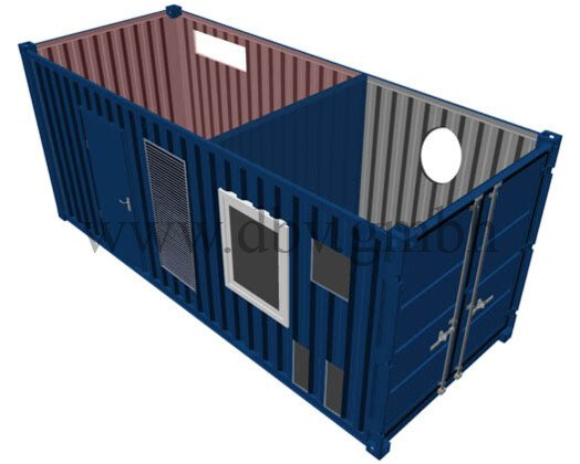 Lagercontainer - Lagersondercontainer