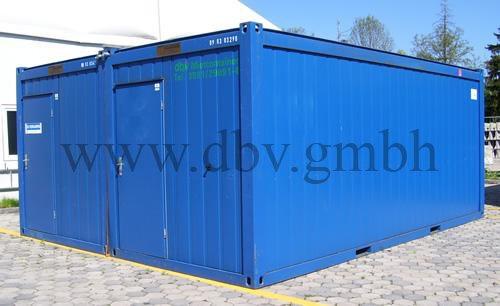 DBV Bürcontainer Kaufen | Experte für Containersysteme