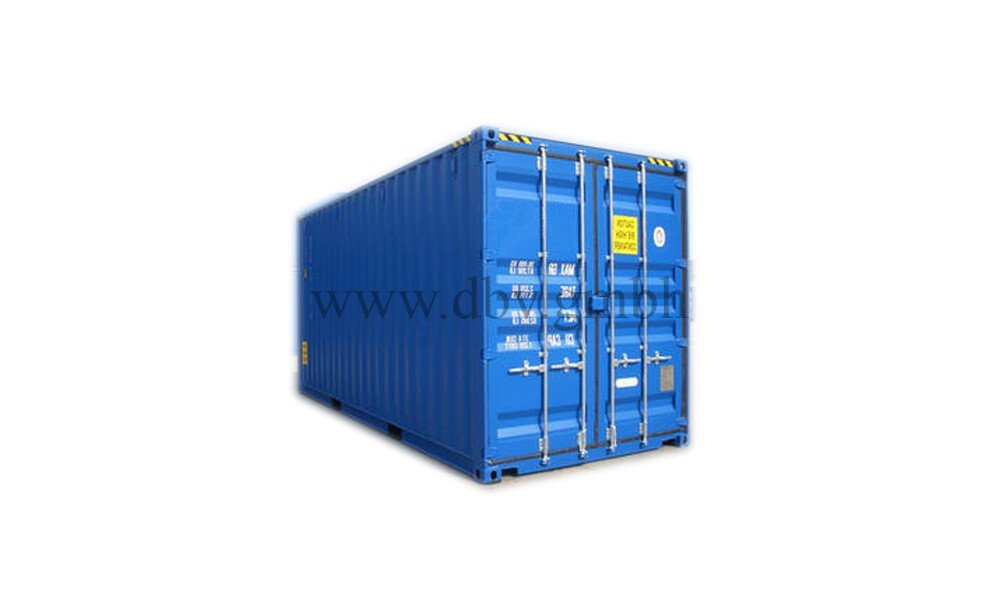 Seecontainer High Cube 20 FT. geschlossen